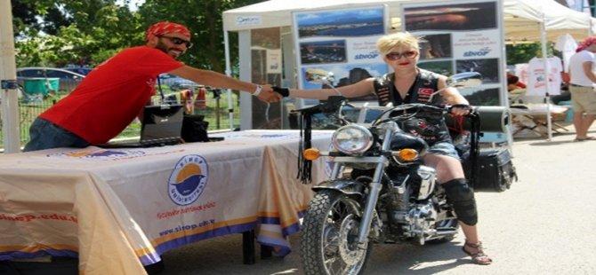 Sinop 3. Uluslararası Doğa, Kültür, Turizm ve Motosiklet Festivalinde En Yavaşı Beypazarılı Çıktı...