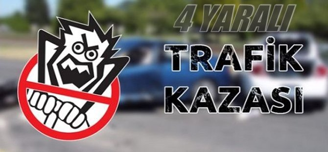 Beypazarı Çayırhan Yolu Solta Boğazında Trafik Kazası 4 Yaralı