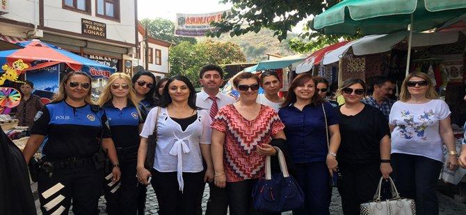 Ankara İl Emniyet Müdür ve Müdür Yardımcılarının Hanımları ŞEHİT Polislerimizin Ailelerine Taziye Ziyareti