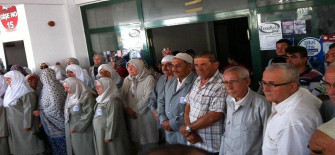 Beypazarı'ndan Kutsal Topraklara 90 Hacı Adayı Gitmeye Başladı