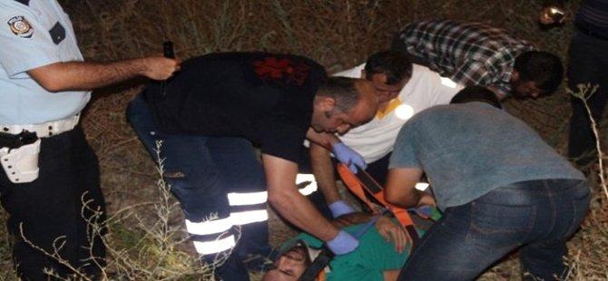 Beypazarı Kırbaşı Yolunda Motosikletle Minibüs Çarpıştı 2 Ağır Yaralı