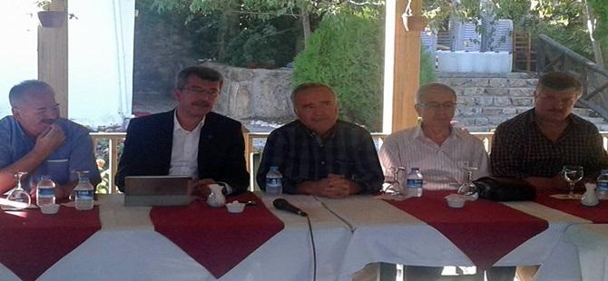 """Ak Parti Beypazarı İlçe Başkanı Mehmet YAYIN; """"Yapılan Küçülme ve Ekonomik Tasarrufun Müsebbihi ve Arkasındayız"""""""