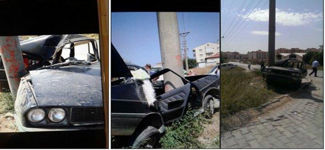 Beypazarı Kırbaşı Yolunda Trafik Kazası 1 Ölü!..