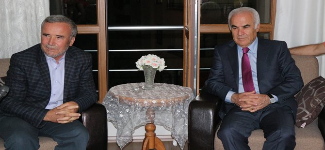 AK Parti Ankara Milletvekili Nevzat Ceylan, Beypazarı ilçesini ziyaret etti.
