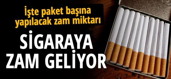 Sigaraya 'SGK zammı' geliyor