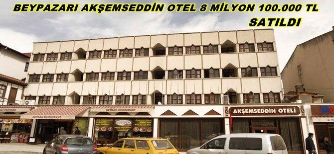 Beypazarı; Akşemseddin Oteli Rekor Fiyata'' 8 milyon 100 Bin tl ''ye Satıldı