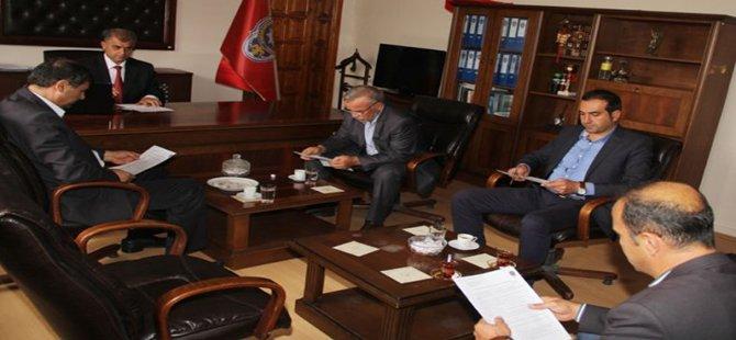 Beypazarı İlçe Emniyet Müdürlüğünde, Seçim Güvenliği Toplantısı Düzenlendi