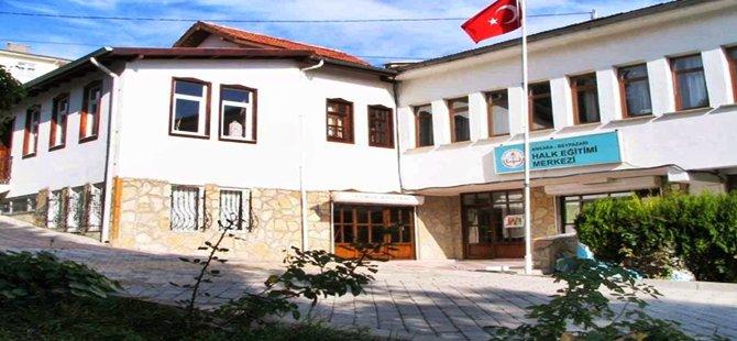 Beypazarı Halk Eğitim Merkezi Müdürlüğü Yeni Kurslar Açacak