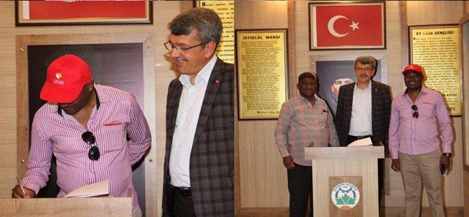 Beypazarı Namibya Çevre ve Turizm Bakanı Shifeta'yı Ağırladı