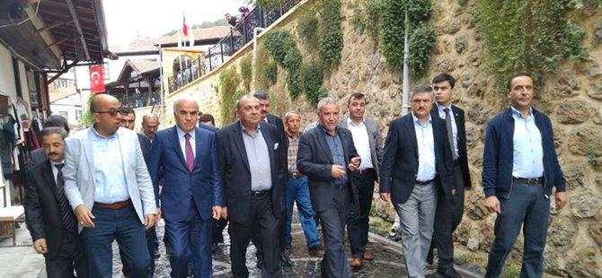 Başbakan Yardımcısı Tuğrul Türkeş ve Ankara Milletvekili Nevzat Ceylan Beypazarı'nı Ziyaret Ettiler