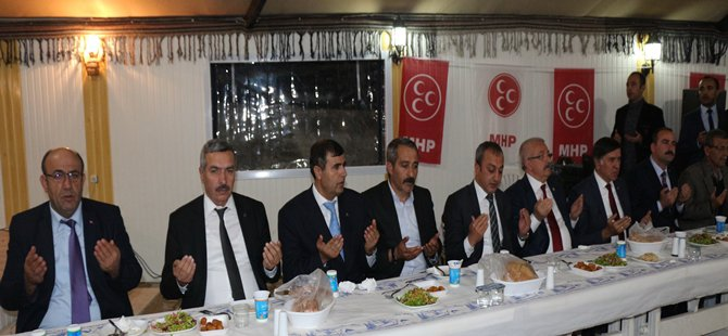 MHP Beypazarı'nda İstişare Toplantısı Yaptı
