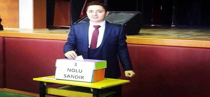 Ankara-Çankaya Hasan Ali Yücel A.Ö.L Okul Meclis Başkanı  Beypazarılı  Hakan KARAALP Secildi