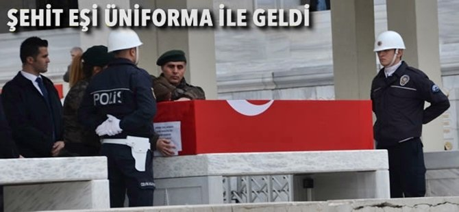 Ankara Şehit Komiserini  Uğurladı...