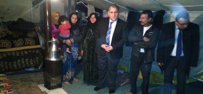 Beypazarı Kaymakamı Suat SEYİTOĞLU İlçemizde Kalan Suriyeli Aileleri Ziyaret Etti