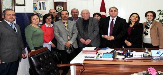 Beypazarı Kent Konseyi Engelli, Yaşlı ve Kadın Hakları Komisyonu, Kaymakam Suat Seyitoğlu'nu Ziyaret Etti