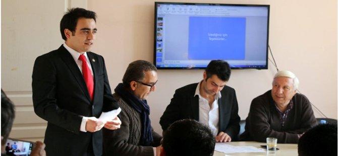 CHP Beypazarı Gençlik Kollarının Yeni Başkanı Hasan Soysal