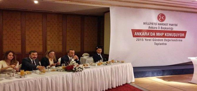 MHP Seçim Sonrası Ankara'da Yerel Gündemi Değerlendirdi