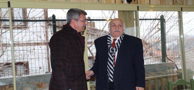 Beypazarı'nın Eski ve Yeni Belediye Başkanı  Buluştular
