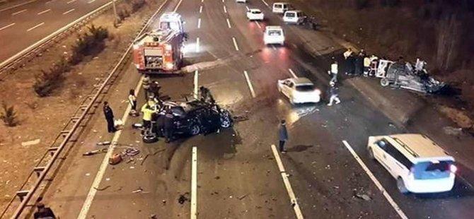Başkentde Feci Kaza 3 Ölü 1 Beypazarılı
