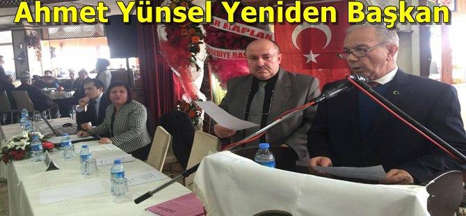 Ahmet Yünsel Yeniden Başkan Seçildi
