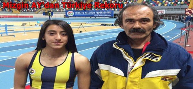 Beypazarılı Mizgin Ay 400 metrede 14 yıldır kırılamayan Türkiye rekorunu kırdı