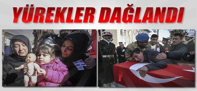 Türkiye Şehitlerine Ağlıyor...Şehitlere Son Veda...