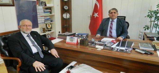 Yeni İlçe Müftüsü Abdulmuttalip PESE Beypazarı Kaymakamı Suat SEYİTOĞLU Ziyaret  Etti