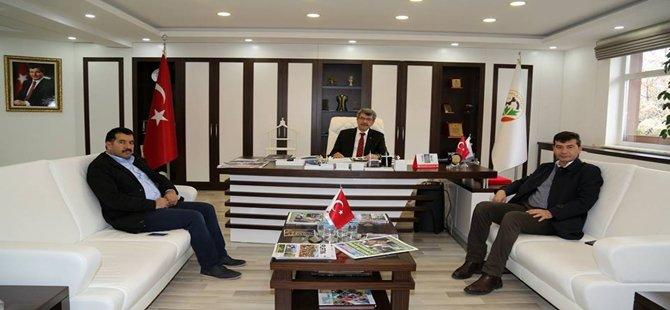 Yozgat Çekerek Belediye Başkanı Beypazarı'nı ziyaret etti