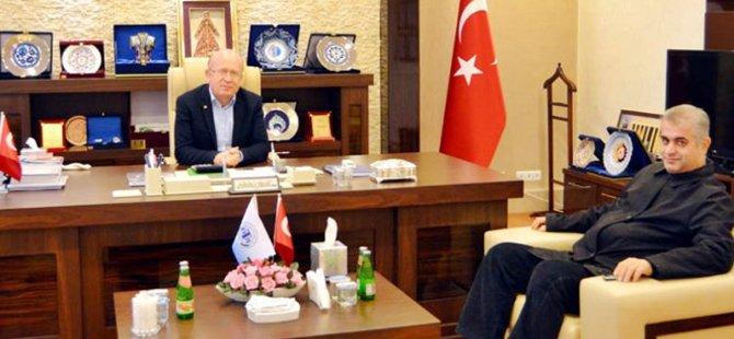 Beypazarı Emniyet Müdürü Demirbaş, Ticaret Odası Başkanını Ziyaret Etti
