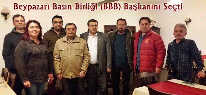 Beypazarı Basın Birliği (BBB) Başkanlığına Mehmet AYIK Getirildi