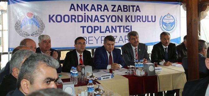 Zabıta Koordinasyon Toplantısı Beypazarı'nda Yapıldı