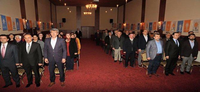AK Parti Beypazarı İlçe Başkanlığı,Şubat Ayı İlçe Danışma Meslisi Toplantısını Yaptı