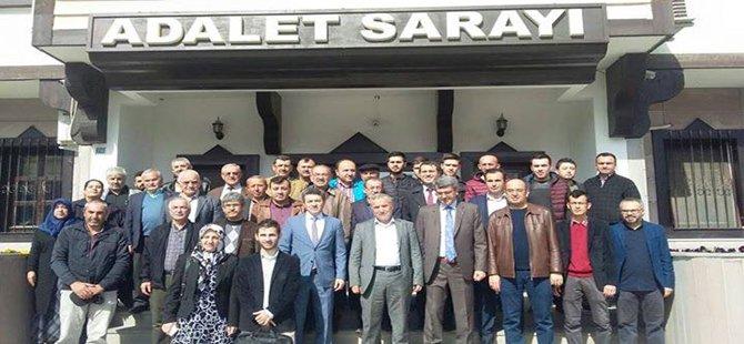 Ak Parti Beypazarı İlçe Gençlik Kolları Cumhurbaşkanı Recep Tayyip Erdoğan'a Hakaret Eden Kemal Kılıçdaroğlu Hakkı'nda Suç Duyurusunda Bulundular