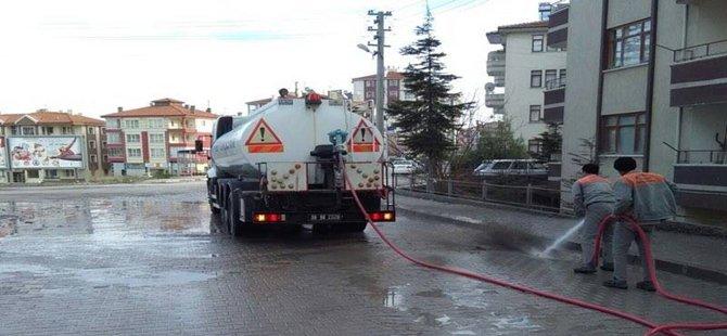 Beypazarı Belediyesinden Bahar Temizliği