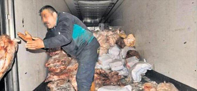 Beypazarı'nda Kaçak Et Ele Geçirildi