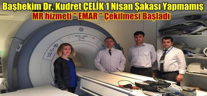Beypazarı Devlet Hastanesinde MR hizmeti '' EMAR '' Çekimleri Başladı
