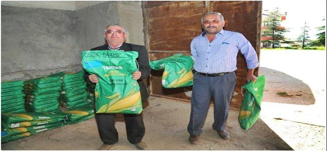 Beypazarı Belediyesinden Çifçiye Tohum Desteği