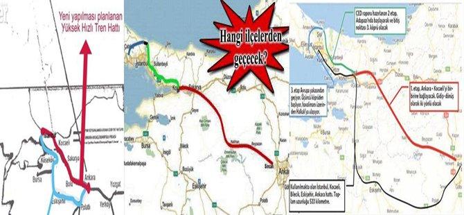Gözün Aydın BEYPAZARI ''Demiryolu hattının ÇED raporu kabul edildi''