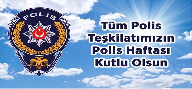 Beypazarı'nda Türk Polis Teşkilatı'nın 171. kuruluş yıl dönümü çeşitli etkinliklerle kutlandı