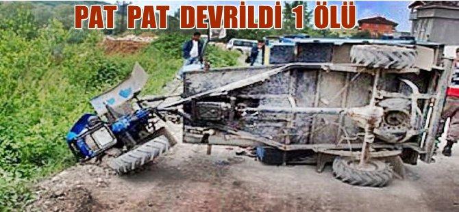 Pat  Pat Motorunun Altında Kalan Sürücü Öldü
