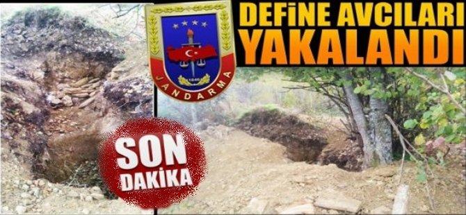 Beypazarı'nda İzinsiz Kazı Yaparak Define Arayan 6 Kişi Yakalandı