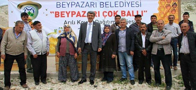 Beypazarı Belediye Başkanı Tuncer KAPLAN'dan Arıcıya Tam Destek