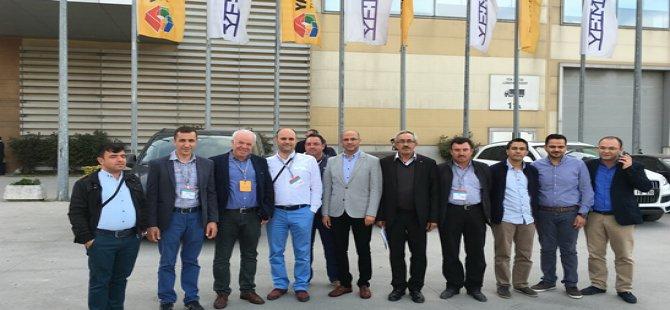 BTO İnşaat Komitesi Üyeleri 39.Yapı Fuarı ''Turkeybuild İstanbul'da'' Ziyareti Etti