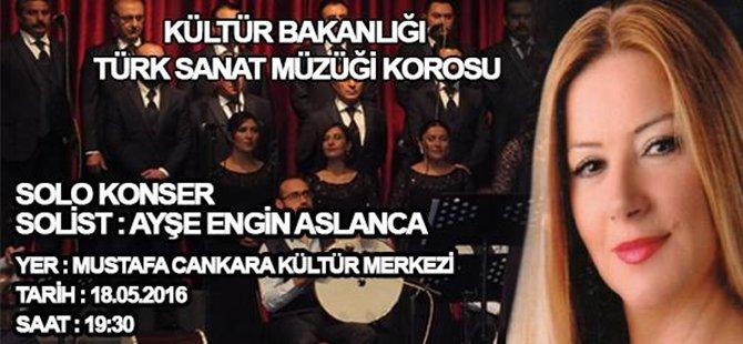 Türk Sanat Müziği Konserine Tüm Halkımız Davetlidir