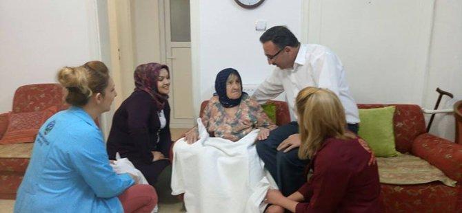 Beypazarı Belediyesi Ekipleri Yaşlılarımızın Gönlünü Fethetti