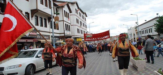 Beypazarı'nda Gazi Gündüzalp'e Muhteşem Anma Töreni...