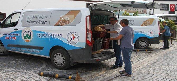 """Beypazarı Belediyesi  """" Ramazan'da Sıcak Aş """" Adı Altında İhtiyaç Sahibi Ailelere Ulaşıyor"""