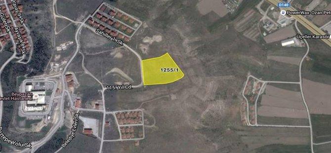 Beypazarı Belediyesi Boztepe'deki 20 Dönüm Maliye'ye Ait Araziyi Satın Aldı.