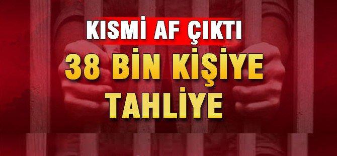 KISMİ AF ÇIKTI 38 BİN MAHKUM SERBEST KALACAK...BEKİR BOZDAĞ'DAN SON DAKİKA AF AÇIKLAMASI
