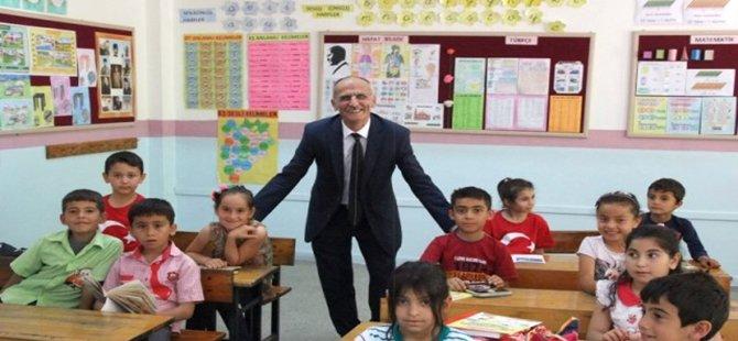 Beypazarı İlçe Milli Eğitim Müdürü İsmail Bilgiç İlçedeki Tüm Okulları Ziyaret Etti